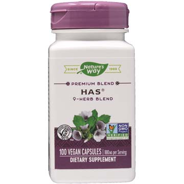 HAS ® Non-Stimulant Herbal Allergy Formula