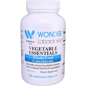 Vegetable Essentials | Whole Food Concentrate