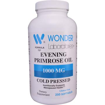 Evening Primrose Oil 1000 mg Cold Pressed