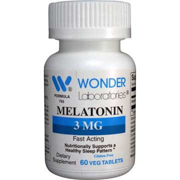 Melatonin 3 mg | Support for Healthy Sleep Patterns