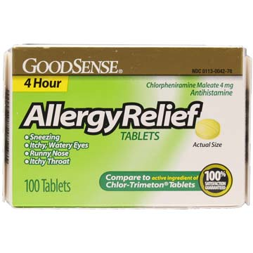 Chlor-Trimeton Comparable Allergy Relief Tablets