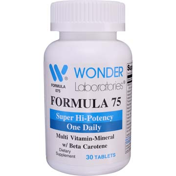 Formula 75 | Super Hi-Potency One Daily