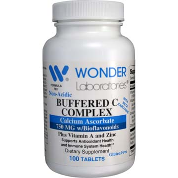 Non-Acidic Buffered C Complex - Vitamin C 750 mg