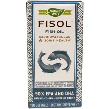 Fisol 50% EPA and DHA - Enteric Coasted Fish Oil