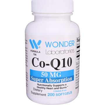 Coenzyme Q10 50 mg Super Absorption