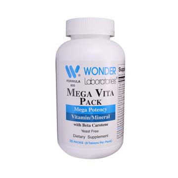 Vitamin Pack Mega Vitamins Mega Potency