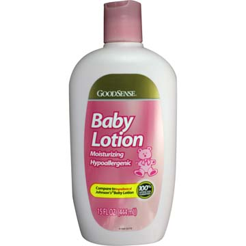 Baby Lotion - Moisturizing Hypoallergenic by GoodSense