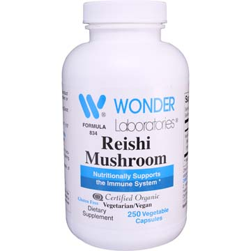 Reishi Mushroom - Certified Organic | Nutritional Support for Immune System