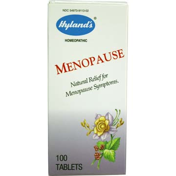 Menopause - Natural Relief for Menopause Symptoms