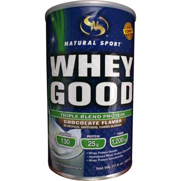 Whey Good - Triple Blend Protein - Chocolate Flavor