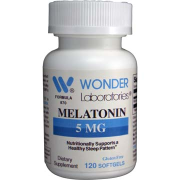 Melatonin 5 mg | Supports Healthy Sleep Pattern