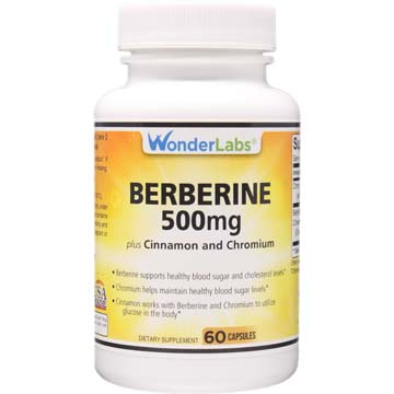 Berberine-500+ TripleDefense w/ Chromium and Cinnamon | Supports Healthy Blood Sugar and Metabolism