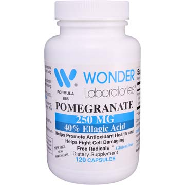 Pomegranate 250 mg with Ellagic Acid