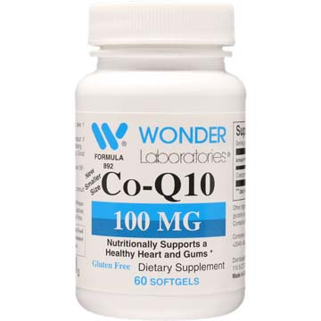Co-Q10 100 mg | Healthy Heart and Gums