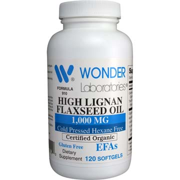 Flaxseed Oil High Lignan 1000 mg