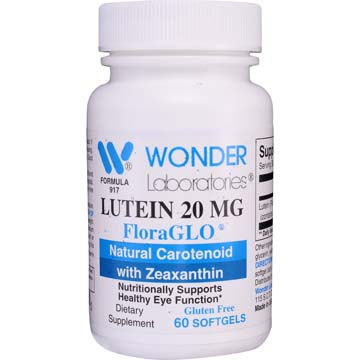 Lutein 20 mg FloraGLO® - Nutritionally Supports Healthy Eye Function and Health