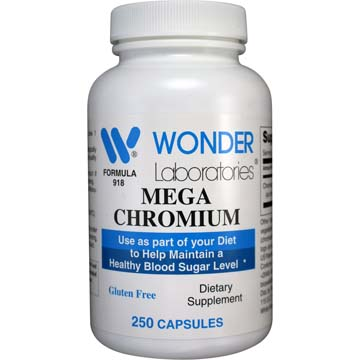 Mega Chromium (Chromium Picolinate) | Support and Maintain Healthy Blood Sugar Levels