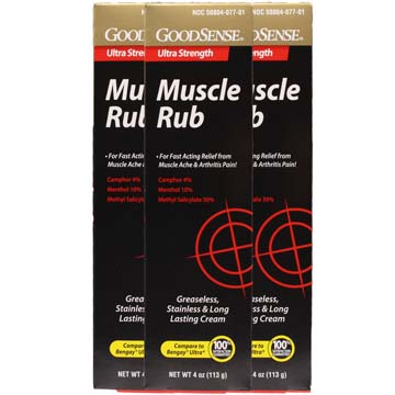 Muscle Rub - Ultra Strength | 3 Box Pack