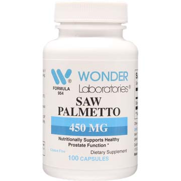 Saw Palmetto 450 mg | Prostate Health and Function