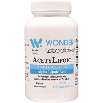 AcetylLipoic | Acetyl L-Carnitine and Alpha Lipoic Acid