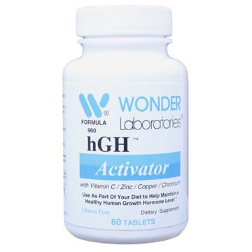 hGH™ Activator - For Maintaining Healthy Growth Hormone Levels