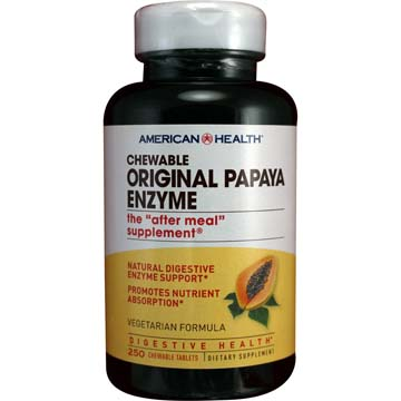 Papaya Enzyme Original Chewable Vegetarian Formula