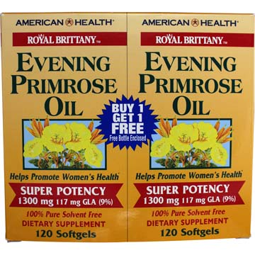 Evening Primrose Oil | Super Potency 1300 mg 117 mg GLA