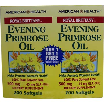 Evening Primrose Oil | 500 mg 45 mg GLA