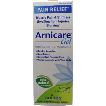 ARNICARE GEL<br>Pain Relief<br>Muscle Aches<br>and Stiffness