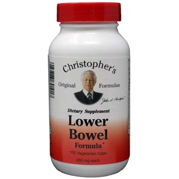 Lower Bowel Formula | Christopher's Original Formula