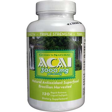 Acai 3000 mg Triple Strength