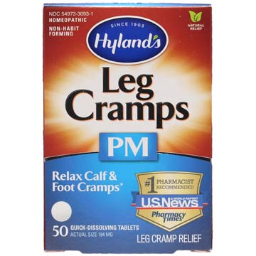 Leg Cramps with Quinine PM