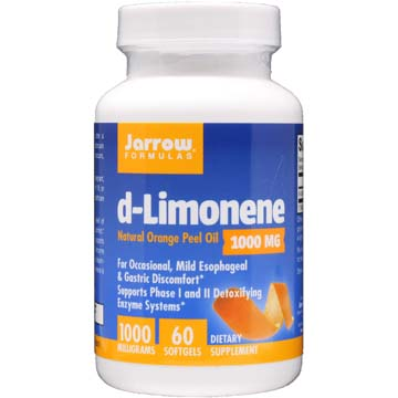 d-Limonene Natural Orange Peel Oil 1000 mg