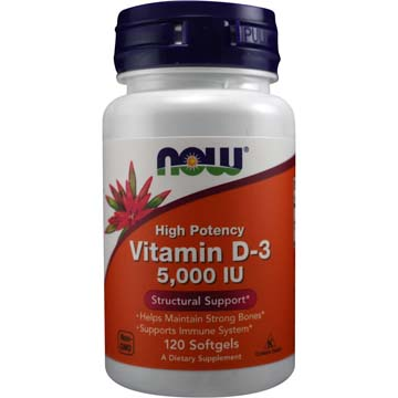 VITAMIN D-3 Highest Potency 5,000 IU