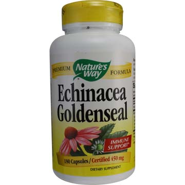 Echinacea and Golden Seal Root