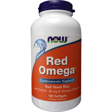 Red Omega ™ Red Yeast Rice Co Q10 Omega-3