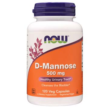 D-Mannose 500 mg | Healthy Urinary Tract