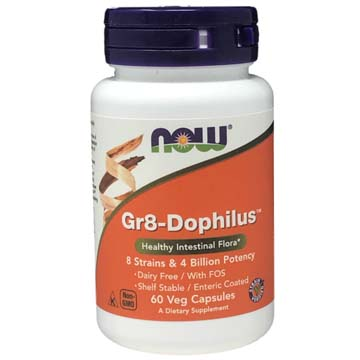Gr8-Dophilus Probiotic 8 Strains + 4 Billion Good Bacteria