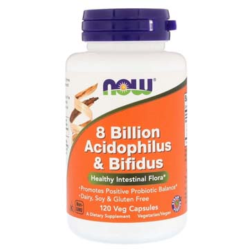 Acidophilus & Bifidus 8 Billion Microorganisms