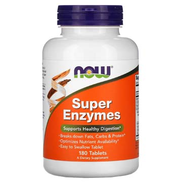 Super Enzymes - Supports Healthy Digestion