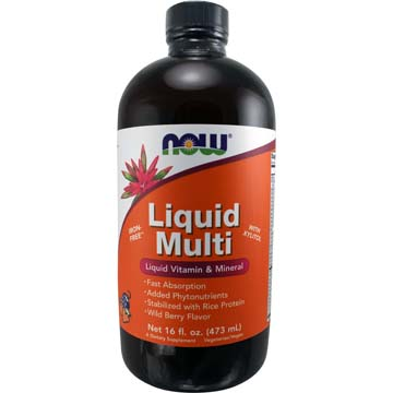 Liquid Multi-Vitamin & Mineral