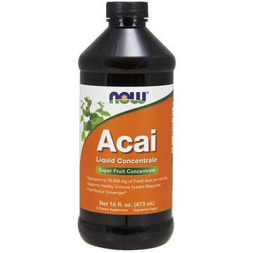 ACAI Liquid Concentrate Equivalent to 35,000 mg of Fresh Acai per serving