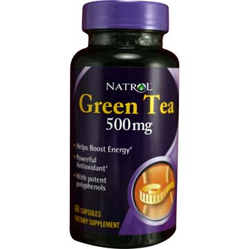 Green Tea 500 mg | Helps Boost Energy