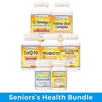 Health Essential Vitamins for Seniors