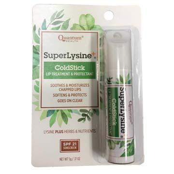 Lysine Super Lysine +® ColdStick Lip Protector & Cold Sore Treatment