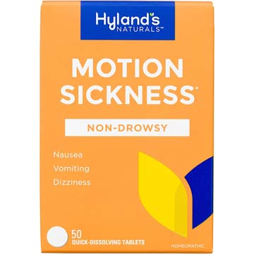 Motion Sickness - Natural Relief for Nausea and Dizziness
