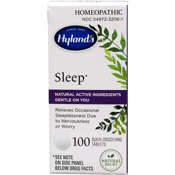 Sleep - Natural Relief of Occasional Sleeplessness
