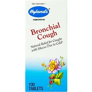 Bronchial Cough - Homeopathic Natural Relief