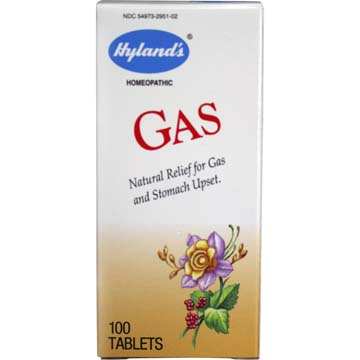 Gas - Natural Relief for Gas and Upset Stomach by Hyland's