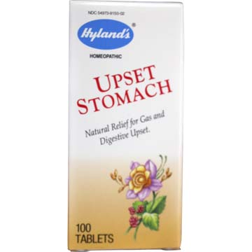 Upset Stomach - Homeopathic Relief by Hyland's